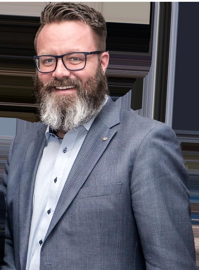 Oberbürgermeister-Kandidat Claus Ruhe Madsen