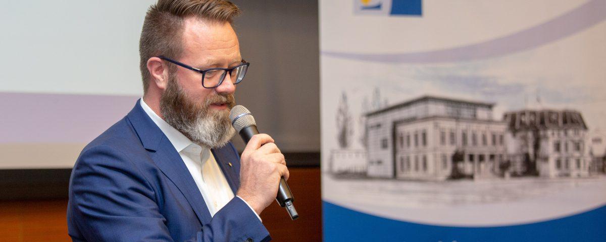 Claus Ruhe Madsen IHK Präsident